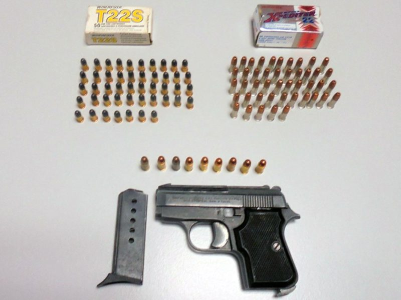 Arma de fogo e munições