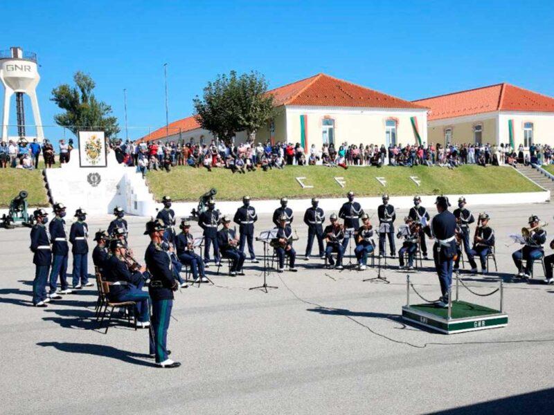 Juramento da bandeira do 45º curso de formação de guardas.